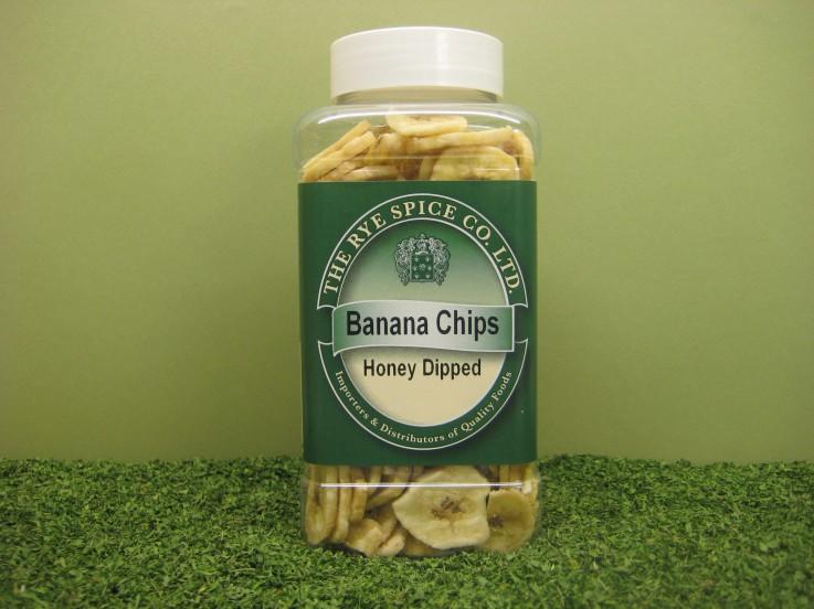 Banana Chips – Honey Dipped