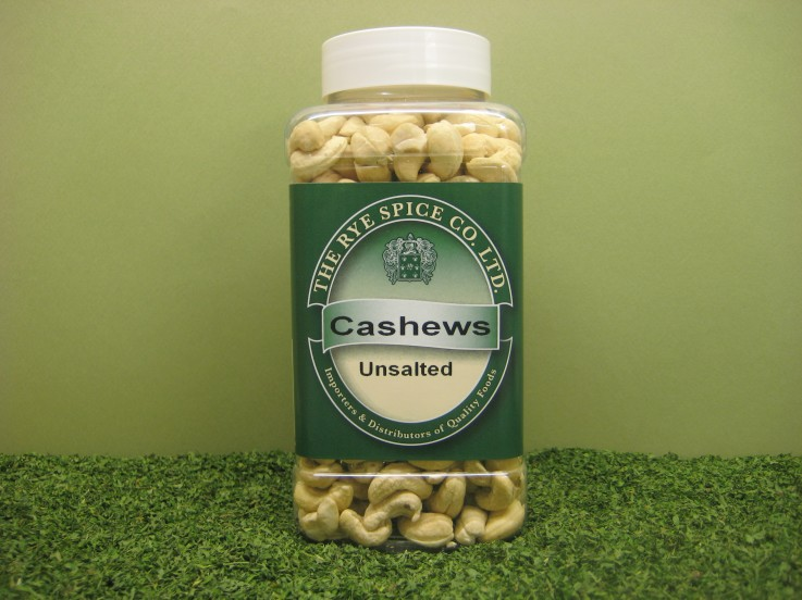 Cashews Unsalted Whole