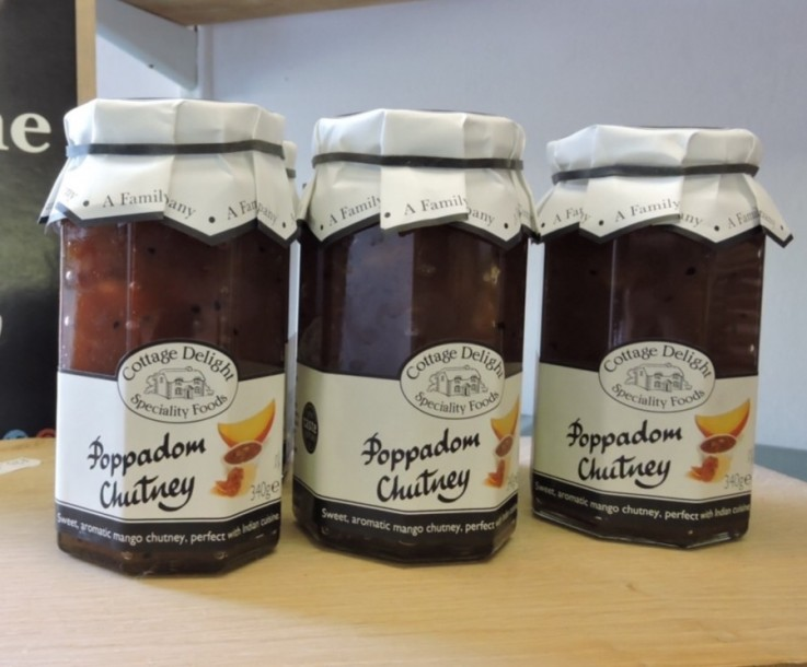 Cottage Delight Poppadom Chutney