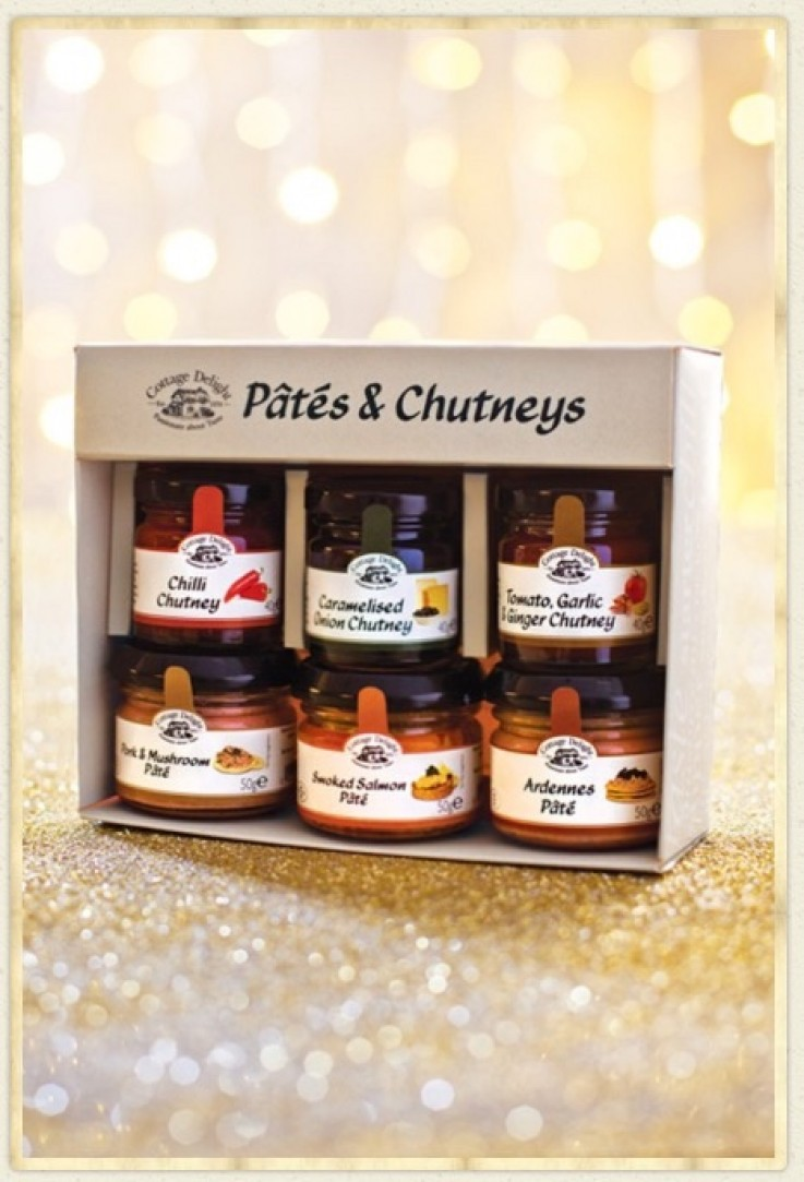Cottage Delight Pates & Chutney Gift Box