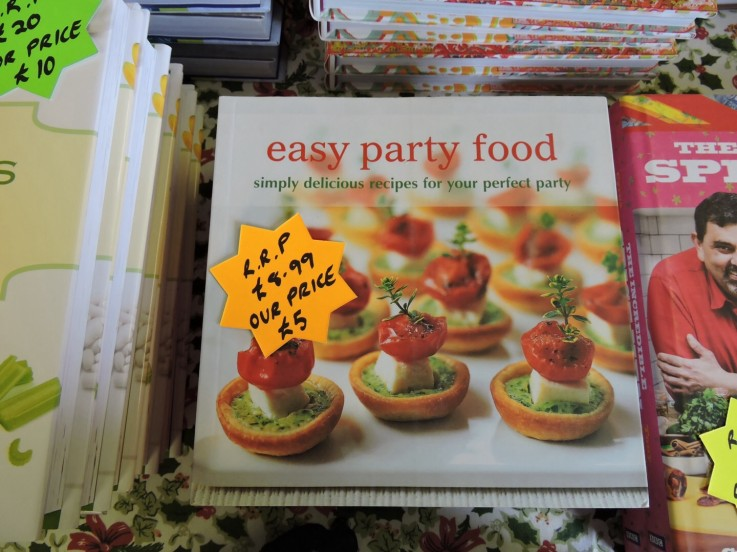 Easy party food book the rye spice co ltd easy party food book forumfinder Gallery