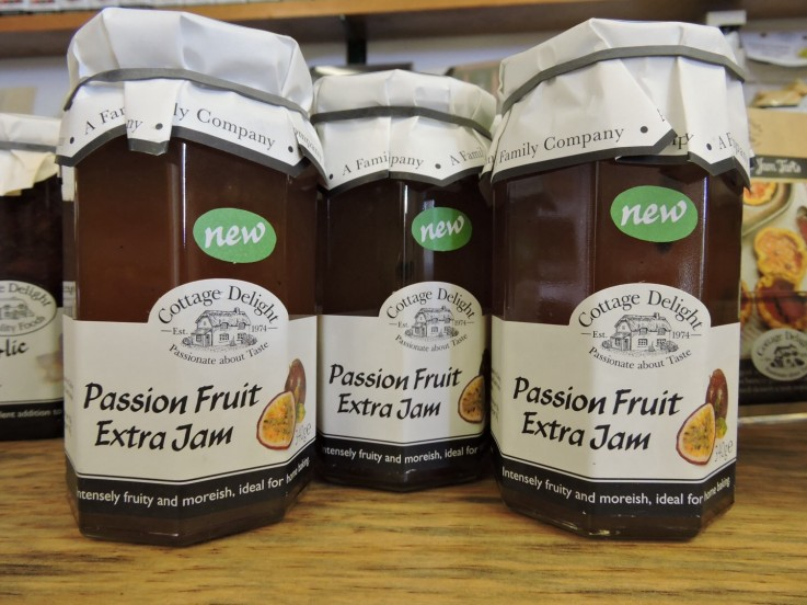 Cottage Delight Passion Fruit Extra Jam