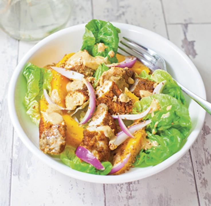Spicy-Mango-Ginger-Chicken-Salad