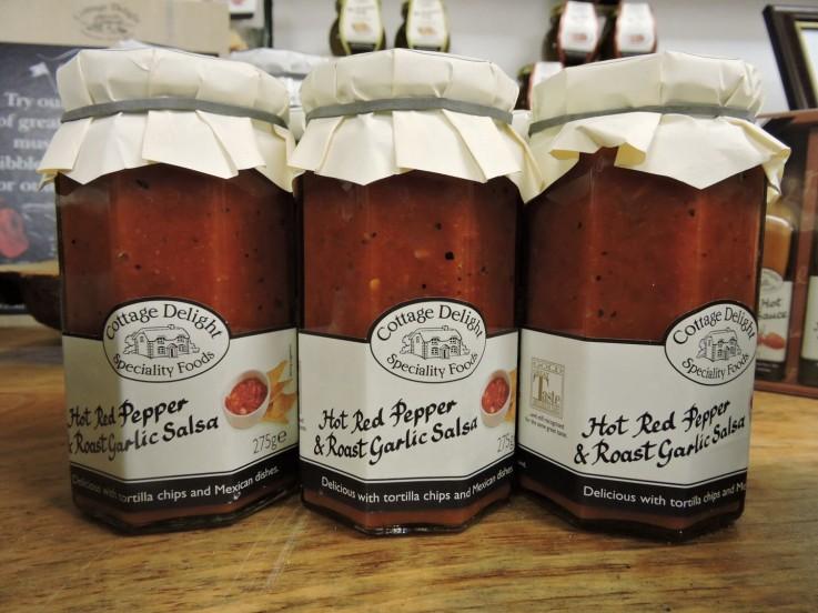 Cottage Delight Red Hot Pepper & Roast Garlic Salsa
