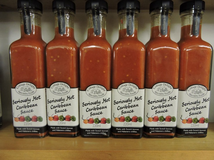 Cottage Delight Seriously Hot Caribbean Sauce