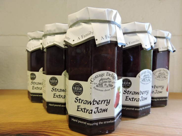 Cottage Delight Strawberry Extra Jam