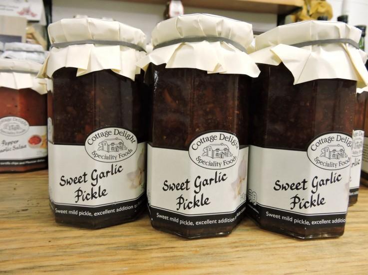 Cottage Delight Sweet Garlic Pickle