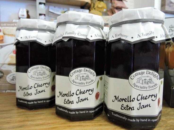 Cottage Delight Morello Cherry Extra Jam
