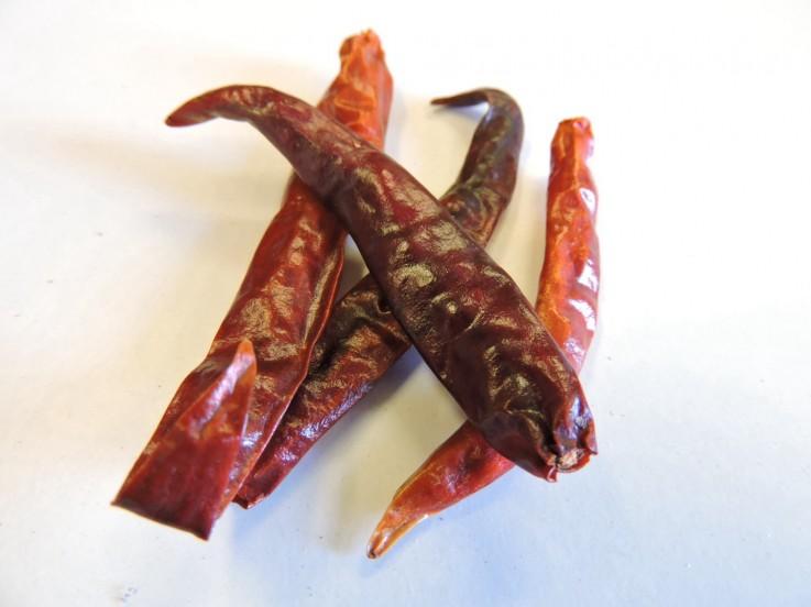 Prik Din Ja Whole Chillies
