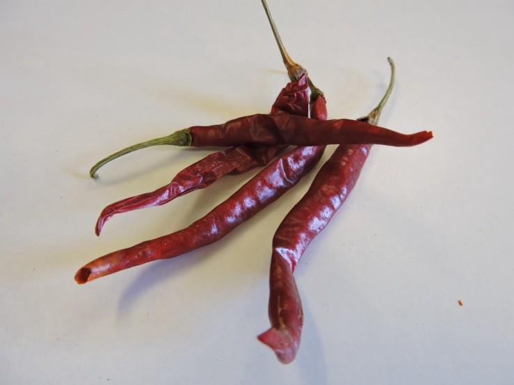D'Arbol Whole Chillies